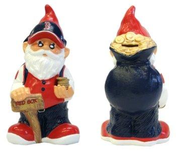 Forever Collectibles Boston Red Sox Garden Gnome Coin -