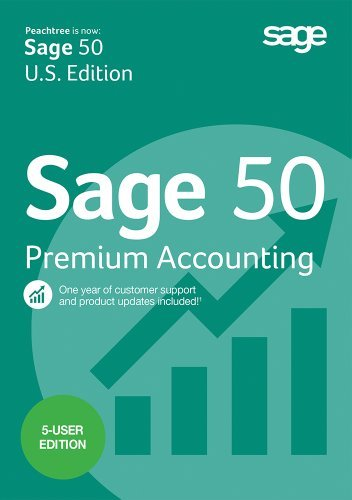 Sage 50 Premium Accounting 2015 5-user [Download]