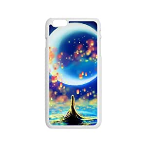 Chamring Moon White Phone Case for iPhone 6 Case