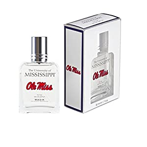 Masik Collegiate Fragrances Eau de Parfum Spray for Women, University of Mississippi, 1.7 Ounce