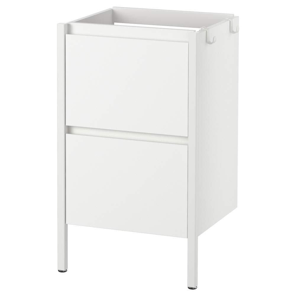 Ikea Asia Yddingen wash-stand bianco