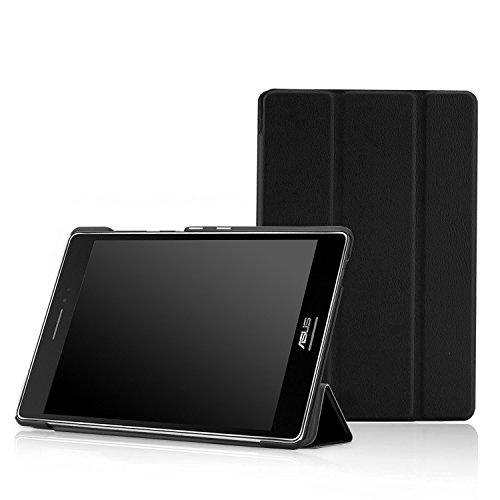 MoKo ASUS ZenPad S 8.0 Z580C Case - Premium Ultra Compact Protection Slim Lightweight Smart Shell Stand Cover Case with Auto Wake/Sleep for 2015 ASUS ZenPad S 8 Z580C/Z580CA 8 Tablet, Black