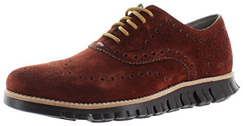 Cole Haan Mens Zerogrand Vinge Oxford Woodbury Piped
