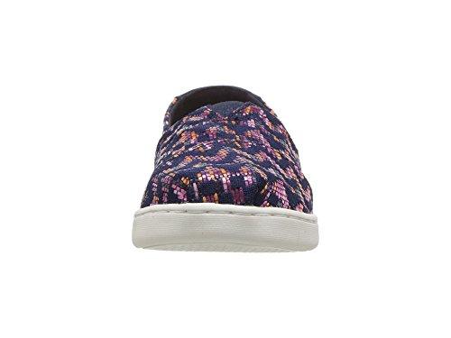 TOMS Youth Alpargata Novelty Textile Espadrille, Size: 4.5 M US Big Kid, Color Fuchsia Colorful - Image 4
