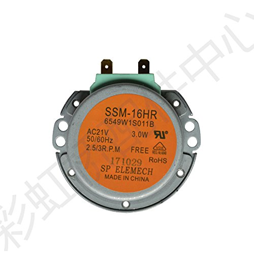 SSM-16HR GM-16-2F302 6549W1S011B Microwave Oven Turntable Carousel Synchronous Motor AC21V 2.5/3 - Motor Carousel