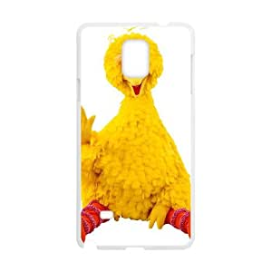 Samsung Galaxy Note 4 Cell Phone Case White Big Bird KFE Customized Unique Cell Phone Case