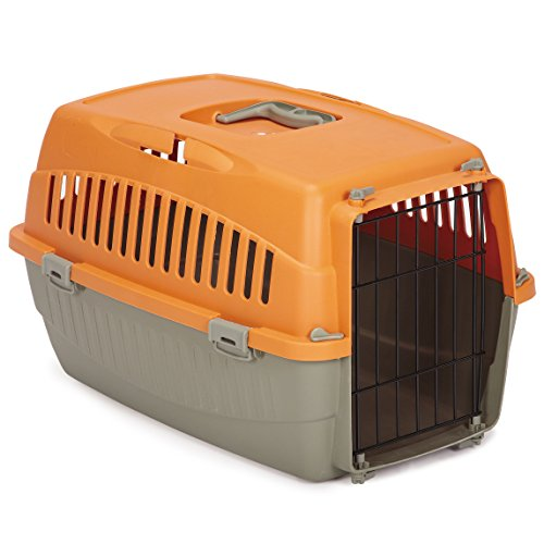 Cruising Companion Casual Canine Carry Me Crate Small Orange