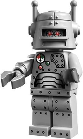 LEGO Minifiguras Coleccionables: Robot Minifigura (Serie 1 ...
