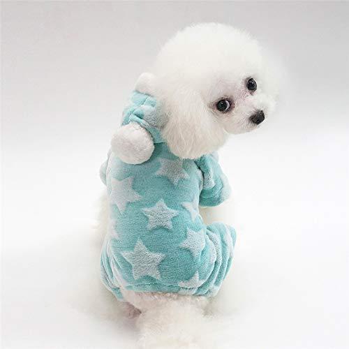 - Margo Star Pattern Soft Fleece Dog Clothes Autumn Winter Hoodies Pet Coat Dog Jacket Clothes Yorkshire Chihuahua Small Pet Dog Coat