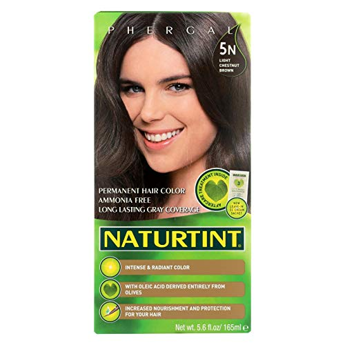 (Naturtint Permanent Hair Colorant 5N Light Chestnut Brown, 5.58 Fluid Ounce)