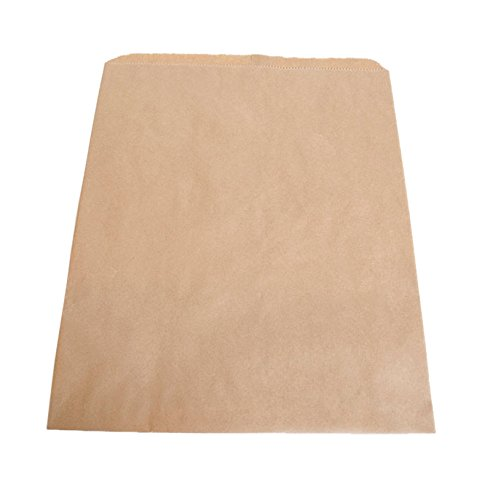 KC Store Fixtures 06053 Brown Kraft Paper Bag, 12