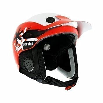Urge New Skull - Casco de esquí rojo Taiga Rouge Talla:L/XL