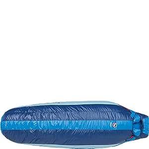 Big Agnes Storm King 0F / -18C Down Sleeping Bag (650 Downtek) - Long Left Zip (Blue Stripe)