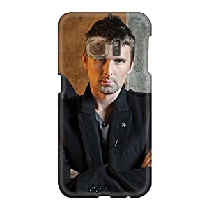 Protective Cell-phone Hard Cover For Samsung Galaxy S6 With Custom High-definition Muse Band Image CristinaKlengenberg