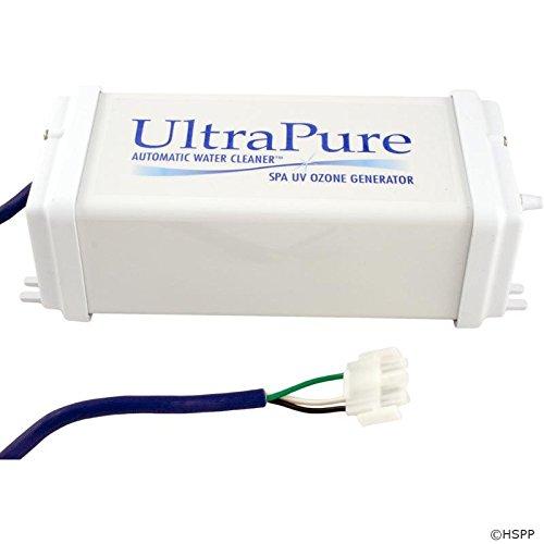 Ultra Pure 1006521 240V Spa UV Ozone Generator with 4-Pin AMP (Ozone Pool Cleaners)