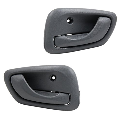 uxcell Pair Driver Passenger Side Interior Door Handle for 99-04 Chevy Tracker