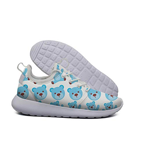 ERSER Comfortable Women Shoes Running Baby Shower Bear Cartoon Cartoon Blue Bear Blue boy rwOrS
