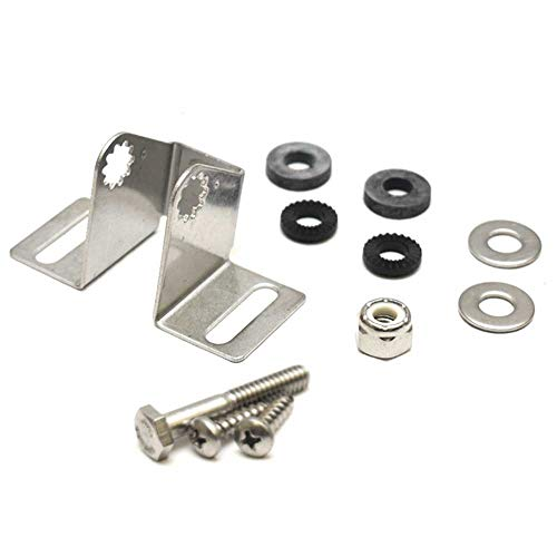 Lowrance Transducer Mounting - Eagle Lowrance HS-WS-SS Transom Bracket 000-0099-06 - Stainless Steel