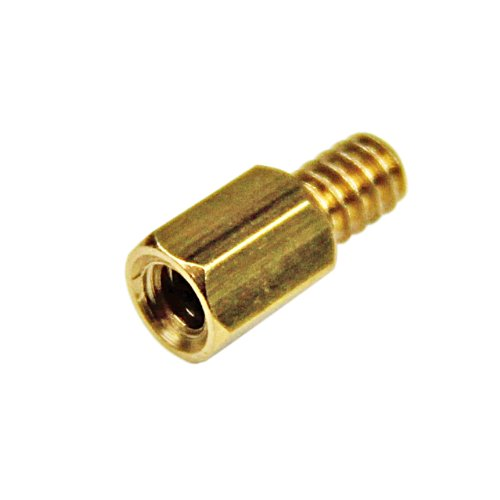StarTech.com 6-32 Brass Motherboard Standoffs for ATX Computer Case - 15 Pack (STANDOFF632)