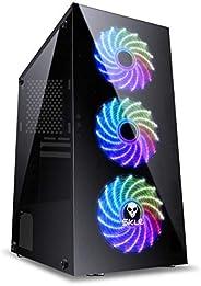Computador Gamer Mvx5 Intel I5 8400 2.8Ghz 8ª Geração Memoria 8GB HD 1TB SSD 16Gb Hdmi Gtx 1050Ti 4GB Ddr5 Fonte 600W, Movva