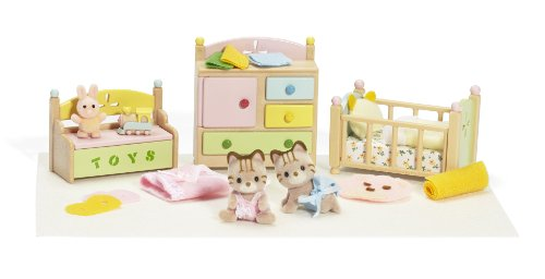 Calico Tanner and Tallulah's Nursery Fun Time Sleep N Play, Baby & Kids Zone
