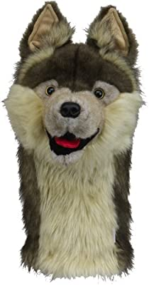 Daphne's Wolf Headcovers