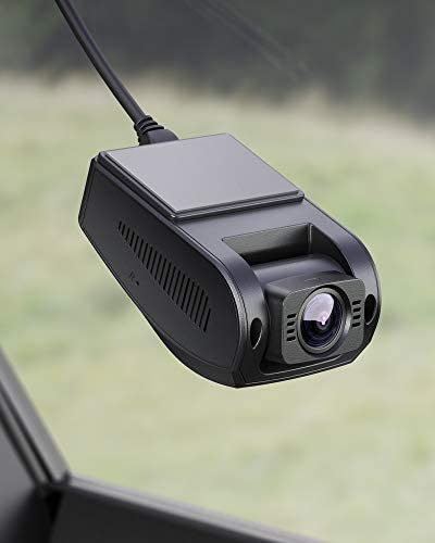 AUKEY Dash Cam FHD 1080p Car Camera Supercapacitor 170 Degree 6-Lane Wide Angle Lens Dashboard Camera Recorder with G-Sensor, WDR and Motion Detection