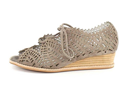 Wedge Suede Lace Espejo Taupe Jeffrey up Womens Sandal Campbell wRnXxCz