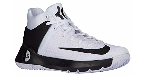 f3739275e83c Galleon - Nike Mens KD 5 IV TB Kevin Durant Basketball Shoes White Black  844590 100 Size 10 D(M) US