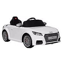 Audi Licensed TT 2017 Kids 12V Battery Powered Ride On Car - White