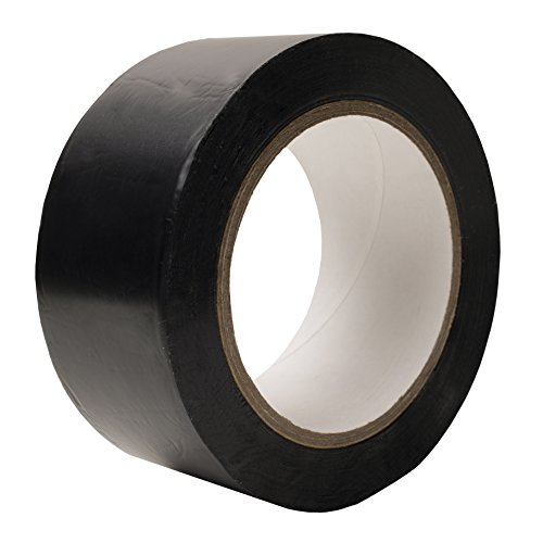 Tapix Heavy-Gauge Vinyl Floor Marking Tape • 2 x 36 yds, 6 mils • Ideal for Safety Marking, product bundling, agility obstacles, And seaming Marley-style dance floors.