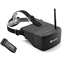 Crazepony Eachine EV800 FPV Goggles 5inch 800x480 5.8G 40CH Raceband Auto-Searching Build In 2000mAh Battery