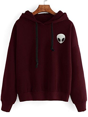 SweatyRocks Sweatshirt Pullover Shoulder Striped product image