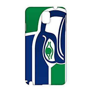Seattle Seahawks Logo 3D Phone Case for Samsung Galaxy Note 3