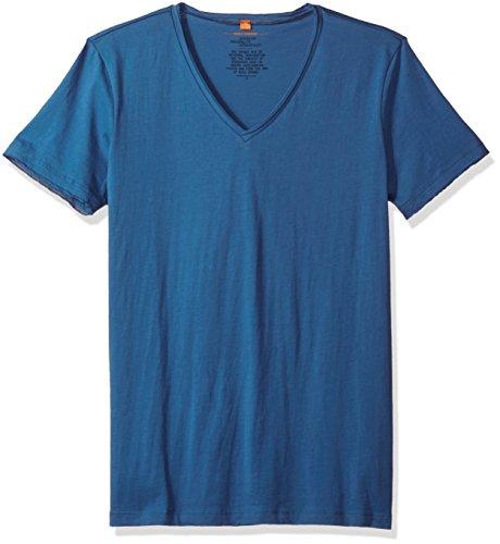 boss-orange-mens-tooley-vneck-t-shirt-medium-blue-x-large