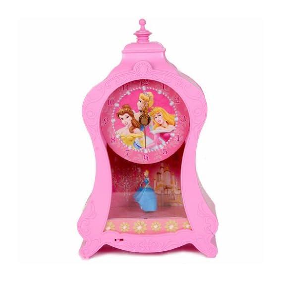 Disney Princess Clock in Pink