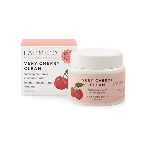 Farmacy Natural Makeup Remover – Very Cherry Clean Makeup Meltaway Cleansing Balm