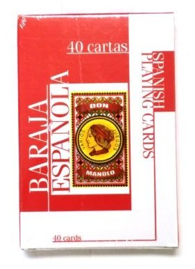 Amazon.com: 2 decks of Spanish Playing Cards - 40 card deck ...