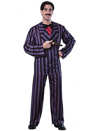 (Rubie's Men's The Addams Family, Gomez Adams Adult Costume, Black)