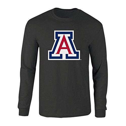 - Elite Fan Shop Arizona Wildcats Long Sleeve Tshirt Icon Heather Gray - XXL