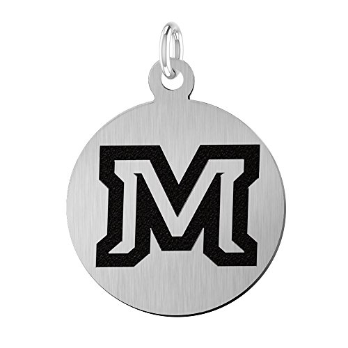 (Montana State University Bobcats Laser Engraved Stainless Steel 17mm Round Charm)