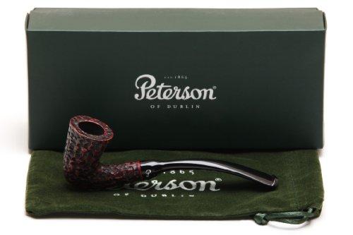 (Peterson Calabash Rustic Tobacco Pipe Fishtail)