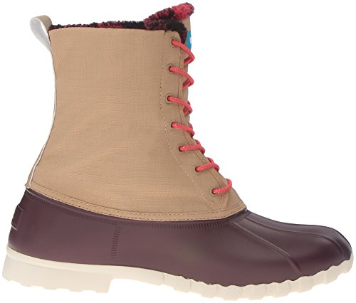 Native Rain Winter Brown Tomb Brown Plaid Jimmy Shoe Crater Men's Brown White rx6q1Twrt