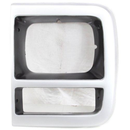 Garage-Pro Headlight Door for CHEVROLET VAN FULL SIZE 1992-1996 LH With Single Head Lamps