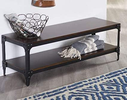 Astounding Amazon Com Homek End Of Bed Storage Bench Bedroom Benches Gmtry Best Dining Table And Chair Ideas Images Gmtryco