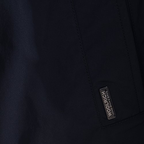 Woolrich Homme WOCPS2441CF40324 Bleu Polyester Manteau