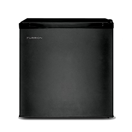 Price comparison product image Furrion FCR17ACA-BL 1.7 Cubic Feet Compact Mini RV Refrigerator - Matte Black