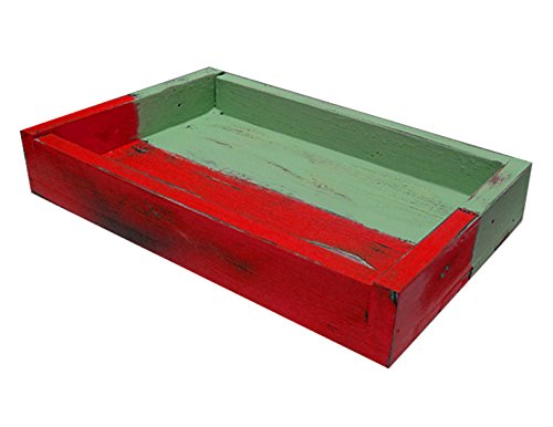IGC Two Tone Extra Large Wood Display/Serving Tray - 32