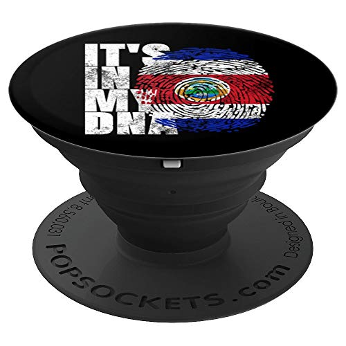 It's In My DNA Costa Rican Shirt Costa Rica Gifts CR Flag PopSockets Grip and Stand for Phones and Tablets]()