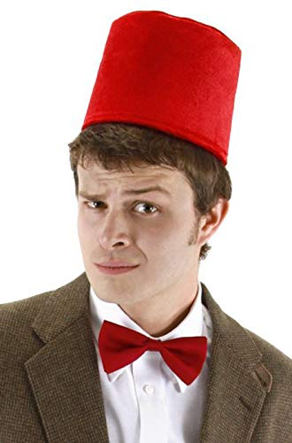 elope Doctor Who Fez & Bowtie Set, One Size